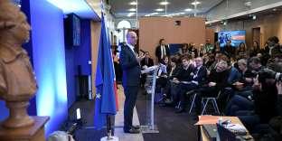 Jean-Michel Blanquer, ministre de l'éducation nationale, à Paris, le 14 février.