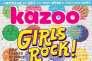 Le magazine américain « Kazoo»,« pour les filles qui n'ont pas peur de faire du bruit».