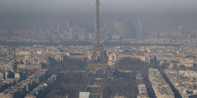 un pic de pollution grave s installe sur paris et l ile de france. Black Bedroom Furniture Sets. Home Design Ideas
