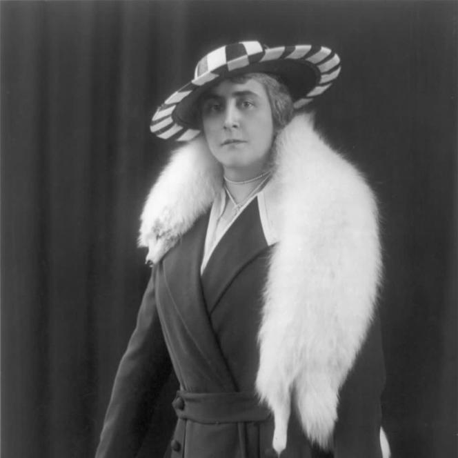 Anne Morgan au début des années 1900.
