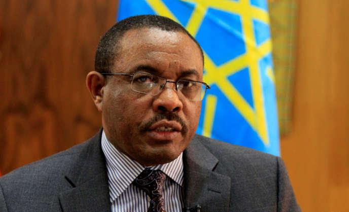 Le premier ministre éthiopien Hailemariam Desalegn, en octobre 2013, à Addis-Abeba.
