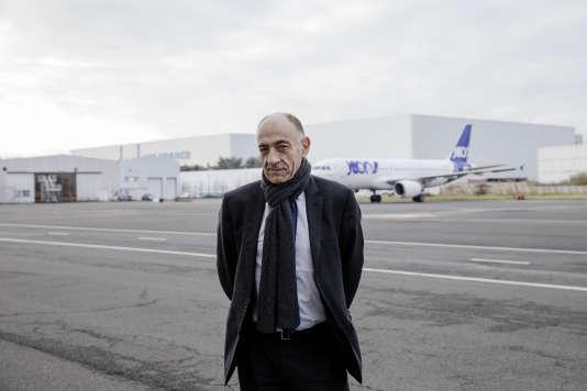 Jean-Marc Janaillac, le 30 novembre 2017, à Roissy-Charles-de-Gaulle.