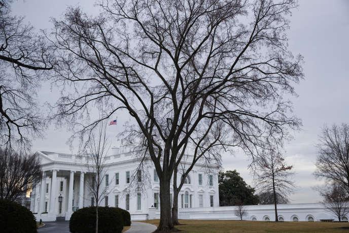 A la Maison Blanche, le 15 février.