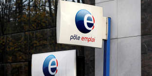 FILE PHOTO: Pole Emploi (National Agency for Employment) signs are seen outside one of its offices in Fontenay-sous-Bois, near Paris, France, November 28, 2017. REUTERS/Charles Platiau/File Photo