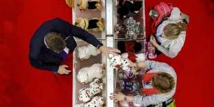 Au Salon annuel du jouet de Londres, le 23 janvier.