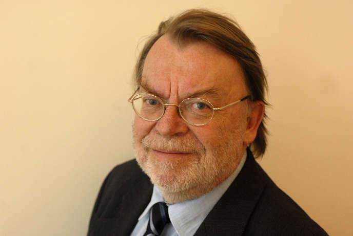 Le journaliste Daniel Vernet, photographié en 2008.