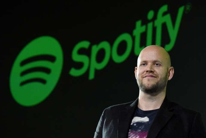 Daniel Ek, fondateur de Spotify, en 2016.