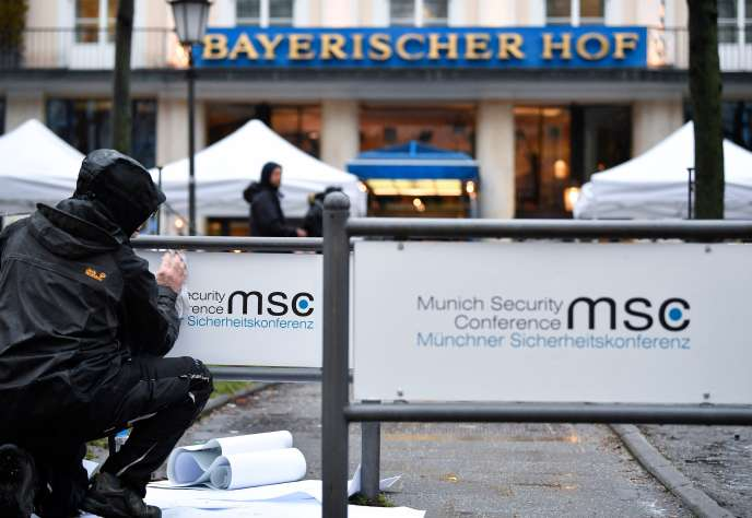 A Munich, le 16 février.