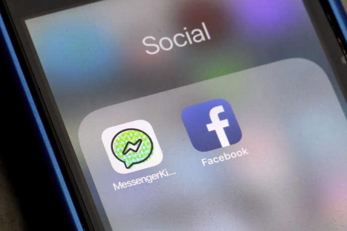 L'application Messenger kids est la version pour enfants deKids est la version pour enfants, sans publicité ni transactions, de la messagerie de Facebook.