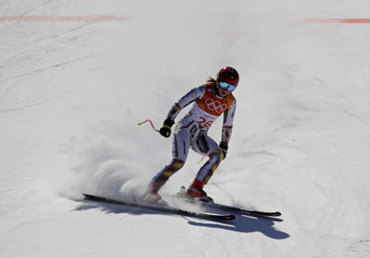 EsterLedecka en ski.