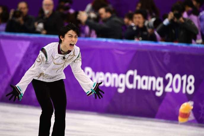 Yuzuru Hanyu a remporté l'or en individuel, quatre ans après sa victoire à Sotchi. Aucun patineur de l'avait fait depuis 1952.