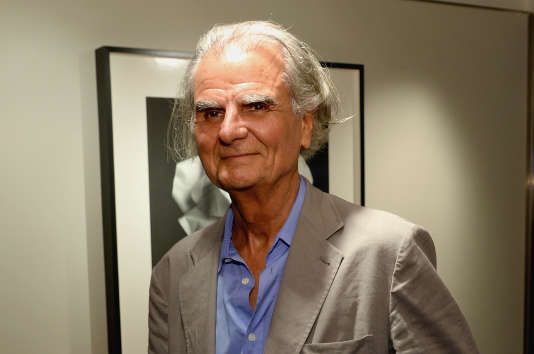 Le photographe Patrick Demarchelier à New York en 2015.