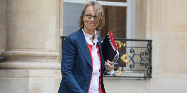 Françoise Nyssen à la sortie du conseil des ministres, le 14 février à Paris.