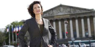 Marie-Eve Malouines, à Paris, en mai 2015.