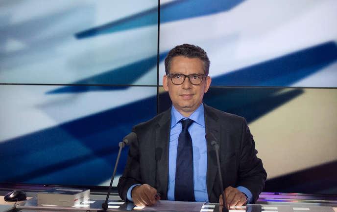 Frédéric Haziza a été réintégré à l'antenne au début de janvier 2018 par la direction de LCP.