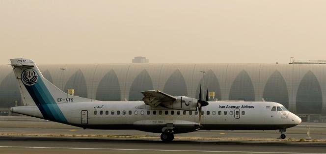Un ATR-72 dela compagnie iranienne Aseman Airlines.