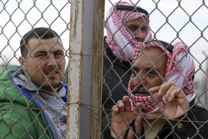 Réfugiés syriens en Jordanie, en février 2018.