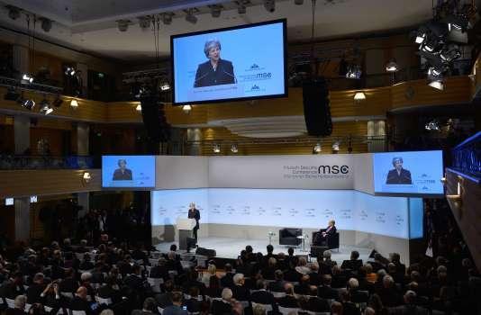 Discours de Theresa May à la Conférence de Munich sur la sécurité, le 17 février.