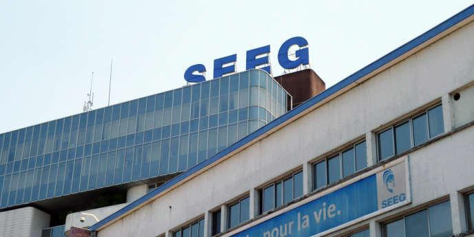 Le siège de la Societé d'énergie et d'eau du Gabon, à Libreville, en 2010.
