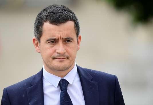 Le ministre de l'action et des comptes publics, Gérald Darmanin, le 19 juillet 2017.