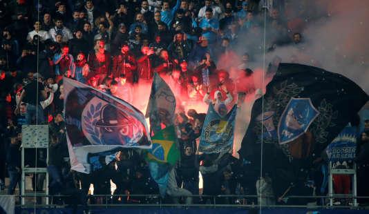 Le Stade-Vélodrome de Marseille, 18 février 2018.