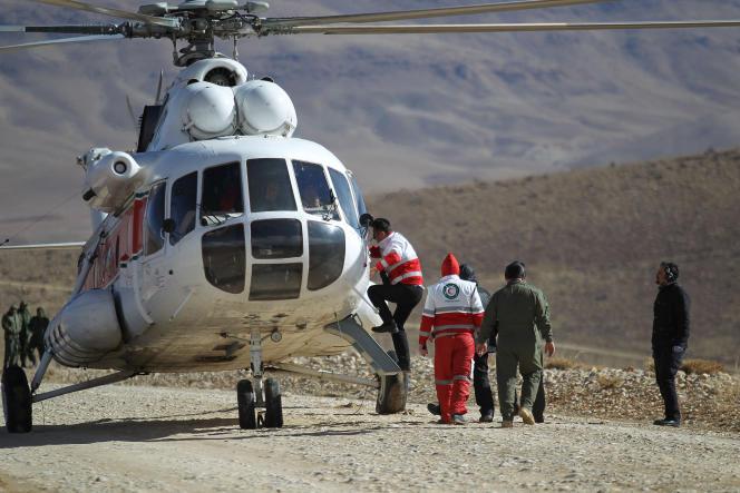 Les secours déployés dans la région montagneuse où a disparu l'ATR 72.