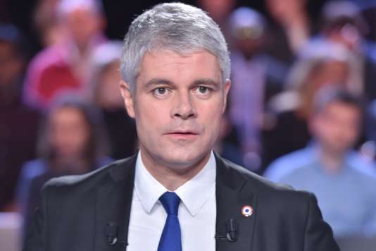 Laurent Wauquiez sur le plateau de«L'Emission politique», le 25janvier.