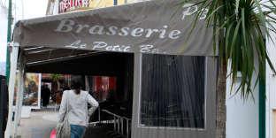 """""""Le Petit Bar"""", à Ajaccio, en avril 2013."""