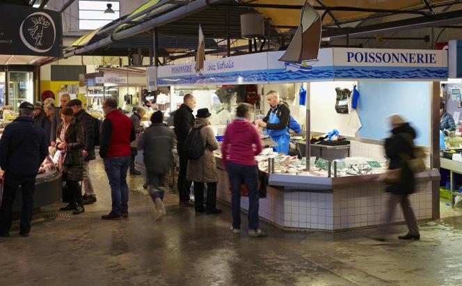 Le marché Talensac.