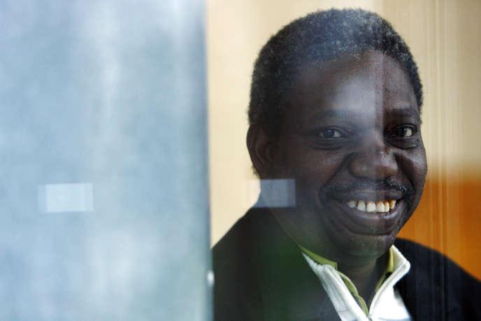 Le réalisateur burkinabé Idrissa Ouedraogo à la Cinémathèque française à Paris, en 2008.
