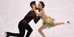 Gabriella Papadakis et Guillaume Cizeron ont pris la deuxième place après le programme court.