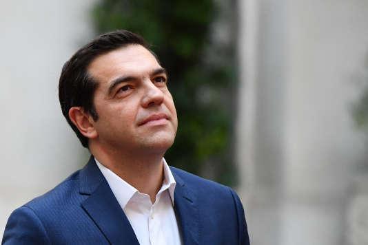 Le premier ministre grec, Alexis Tsipras, le 10 janvier.