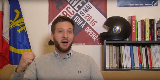 Capture d'écran de la vidéo YouTube « L'AF C'EST QUOI ? #VoxAF», dans laquelle Antoine Berth présente le mouvement.