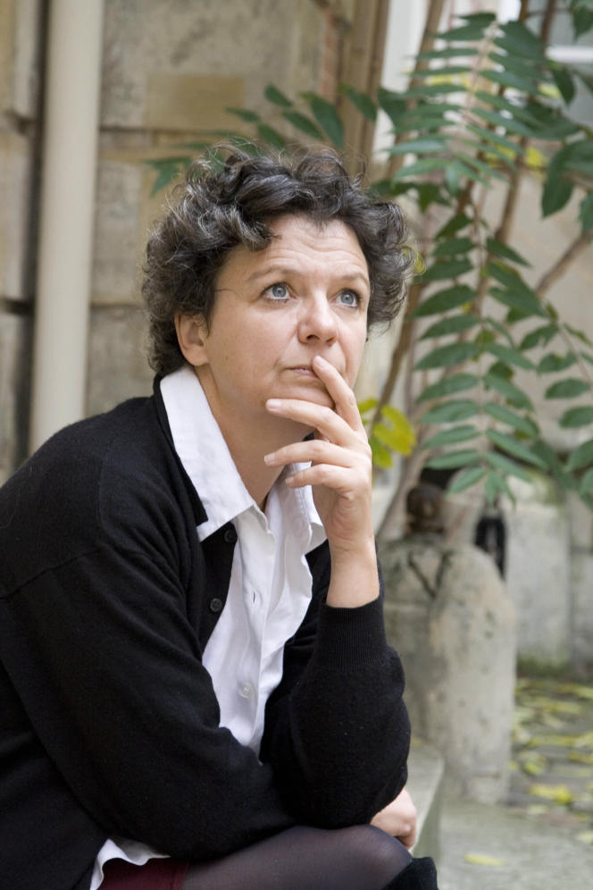 L'écrivaine Dominique Sigaud, en 2007.