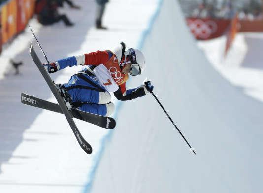 Marie Martinod a remporté l'argent en ski acrobatique (half pipe), le 20 février.