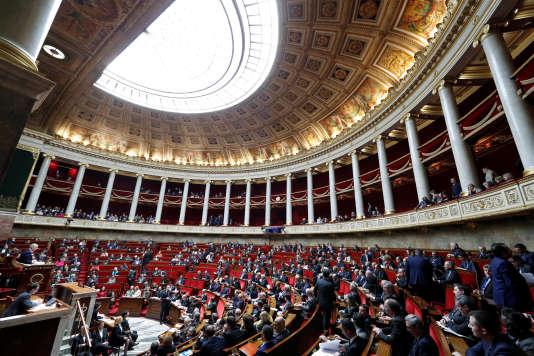 A l'Assemblée nationale, le 20 février 2018.