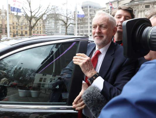 Jeremy Corbyn, le 20 février à Londres.