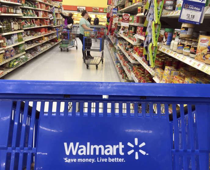 un magasin Walmart à Salem (Massachusetts), le 20 février.