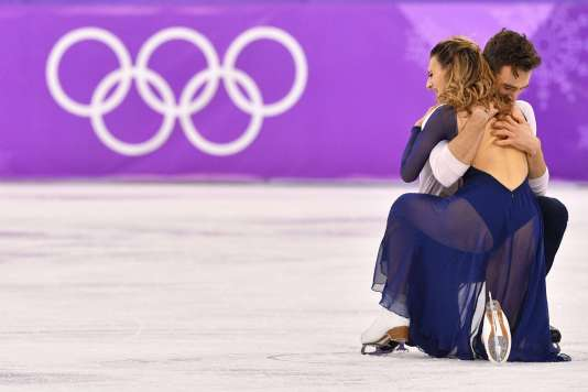 Gabriella Papadakis et Guillaume Cizeron ont effleuré du patin leur rêve de titre olympique.