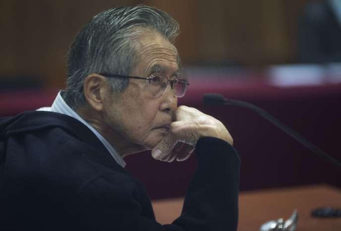 L'ex-président péruvien Alberto Fujimori le 28 juin 2016.