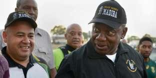 «M. Ramaphosa, qui avait été si proche du grand homme, n'a pas eu à se forcer pour promettre une nouvelle grandeur» (Cyril Ramaphosa le 20 février, à Cape Town).