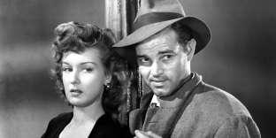 Ann Savage et Tom Neal dans « Détour », d'Edgar G. Ulmer (1945).