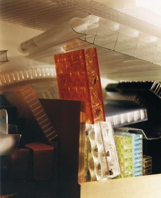 Des matériauxarchivés chez OMA.