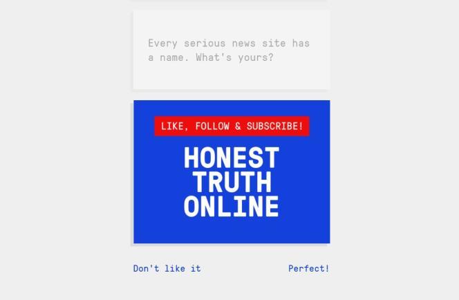 Comment allez-vous nommer votre site Internet ?
