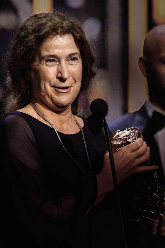 Anaïs Romand, lors de la cérémonie des Césars en 2017.
