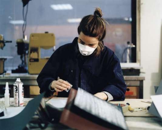 Dans l'atelierde maquettes de l'agence OMA, à Rotterdam.