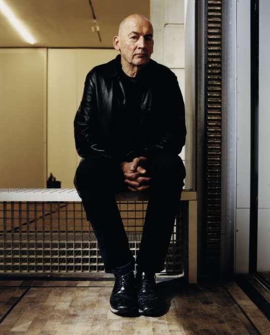 Rem Koolhaas à la Fondation Lafayette Anticipations, à Paris, le 10 janvier.