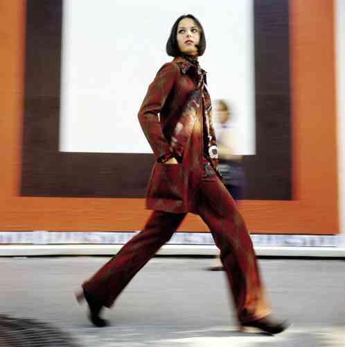 Rita Scherrer pour« Elle», Paris, 1969.