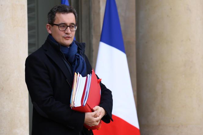 Vendredi2mars, Gérald Darmanin – ici le 21 février sortant de l'Elysée– a porté plainte pour dénonciation calomnieuse contre sa deuxième accusatrice.