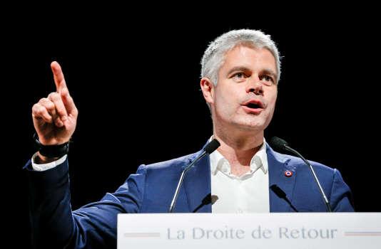 Laurent Wauquiez, président du parti Les Républicains, à Saint-Priest, le 7 décembre 2017 REUTERS/Robert Pratta/File Photo